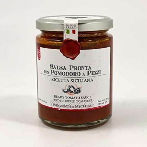 Pomodoro a Pezzi READY TOMATO SAUCE WITH CHOPPED TOMATOES