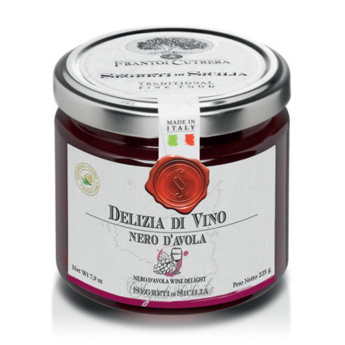 NERO D'AVOLA WINE JELLIED DELIGHT