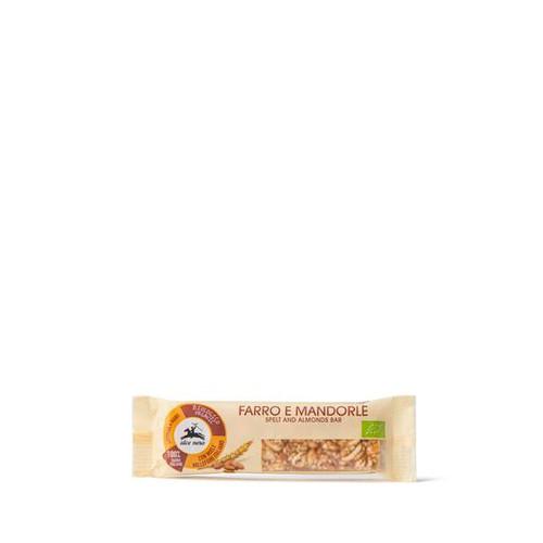 Organic spelt bar with almonds & polyflower honey 20GR