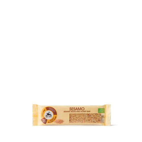 Organic sesame bar with honey 20GR Alce Nero