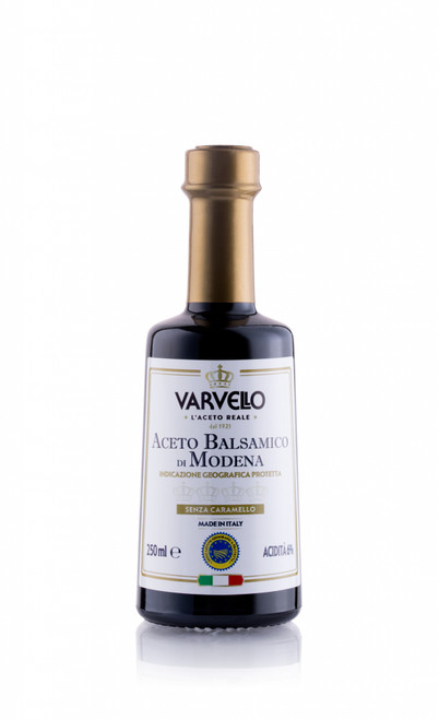 250 ml ACETO BALSAMICO DI  MODENA IGP SENZA CARAMELLO VARVELLO
