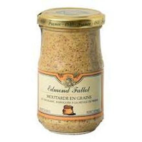 Edmond Fallot Old Fashioned Grain Dijon Mustard 205 gr STONE GROUND