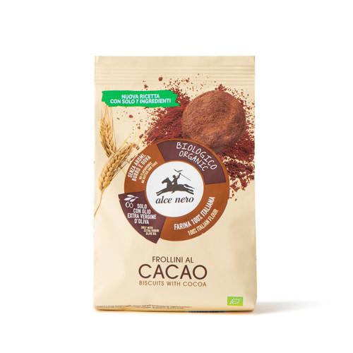 Organic cocoa biscuits Alce Nero 250g