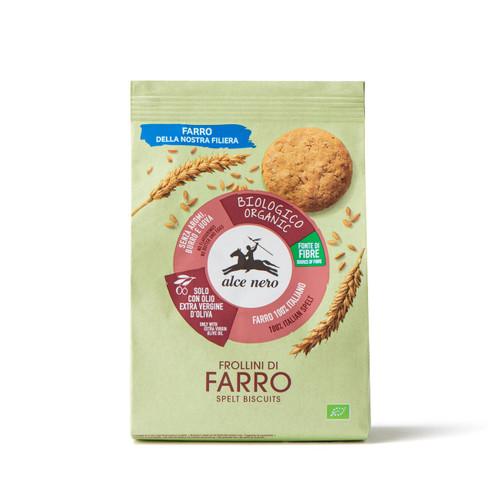 Organic spelt biscuits Alce Nero 250g
