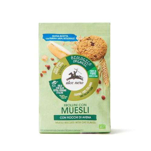 Organic muesli biscuits Alce Nero 250g