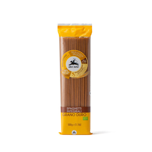 Organic whole durum wheat Spaghetti 500g