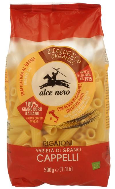 Organic Rigatoni Senatore Cappelli Alce Nero 500g