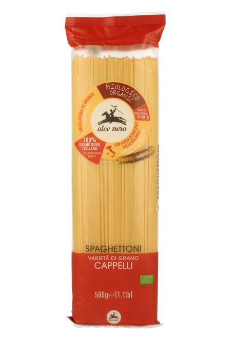 Organic spaghettoni Senatore Cappelli Alce Nero 500g