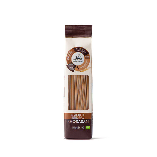 Organic whole Khorasan Spaghetti 500g