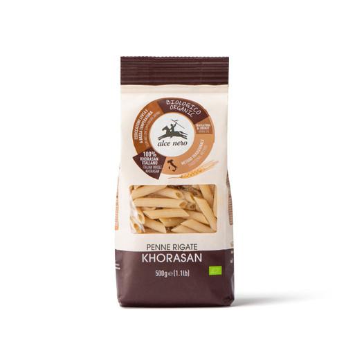 Organic whole Khorasan Penne Rigate 500g