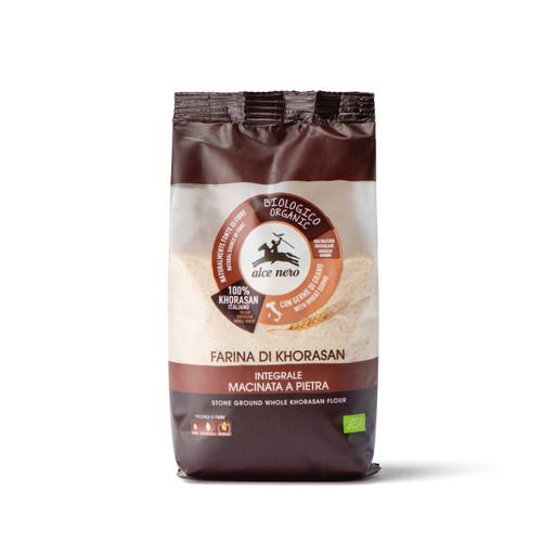 Organic stone ground whole khorasan wheat flour 500g