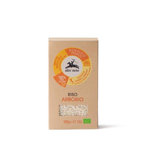 Organic Arborio white rice AlceNero 500g