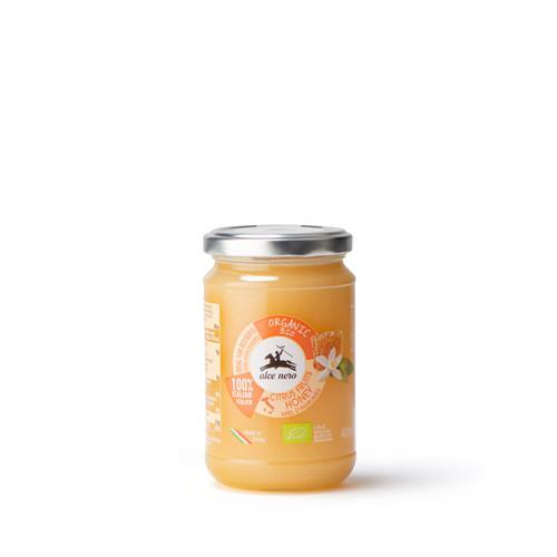 Organic Italian Orange honey 400g Alce Nero