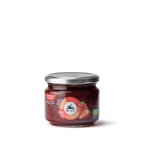 Organic strawberry jam 270g
