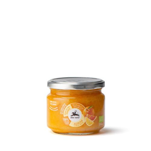 Organic citrus fruit jam  270g