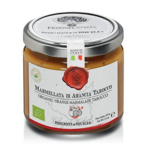 ORGANIC ORANGE MARMALADE TAROCCO FRUIT ONLY WITH SUGAR CANE