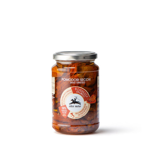 Organic dried tomatoes in olive oil  330g