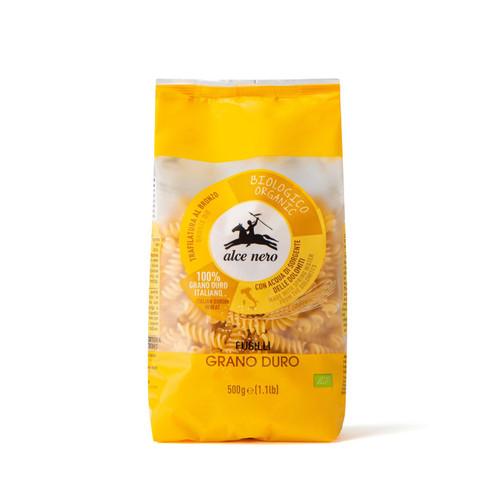 Organic gluten free fusilli 250g Alce Nero