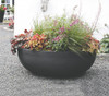 Orinoco Bowl Planter with Plants