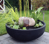 Orinoco Bowl Planter Outdoors with water