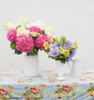 Fresh Cut Let's Dance Rhythmic Blue Hydrangea Flowers in Vases