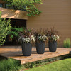 Pleat Planter on a Deck