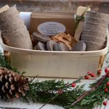 Deluxe Herb Garden Gift Basket Kit