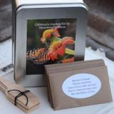 Childrens Gardening Gift Box Seed Kit