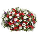 Freedom Mixed Annual Combination in Hanging Basket