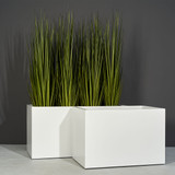 Granada Wide Rectangular Planters with plants