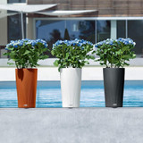 Cilindro Color Tall Round Outdoor Planters