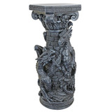 Crypt Demons Gothic Dragon Sculptural Plant Stand