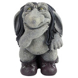 Pondering Sylvester Troll Gnome Statue