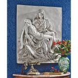 Pieta Sculptural Wall Frieze