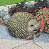 Humongous Hedgehog Animal Statue in the Garden