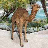Grand-Scale Desert Camel Statue in the Garden