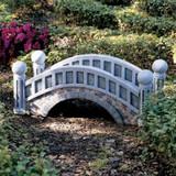 The Halfpence Cobblestone Bridge in the Garden