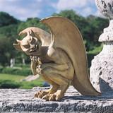 Legend of the Cambridge Hopping Gargoyle Sculpture in the Garden