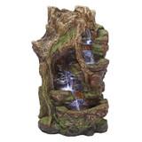 Willow Bend Illuminated Water Fountain