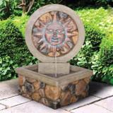 Chapoteo Del Sol Sculptural Water Fountain in the Garden