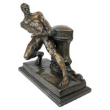 The Power of Man Quality Lost Wax Bronze Statue 1915