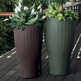 Cup Tall Planters Up Close