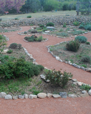 DIY Crusher Fines Garden Path