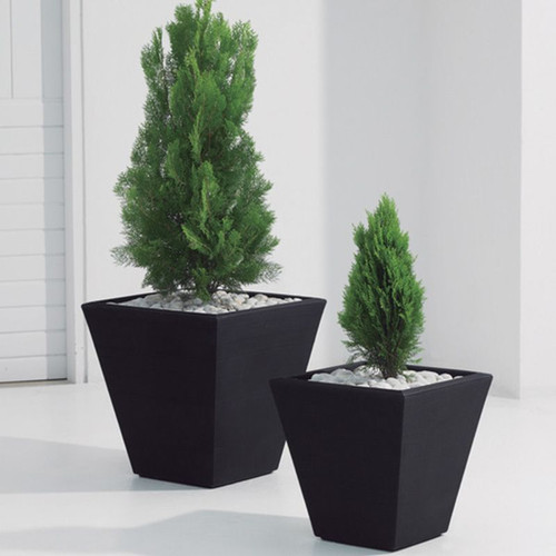 Gramercy Square Planter with Plants