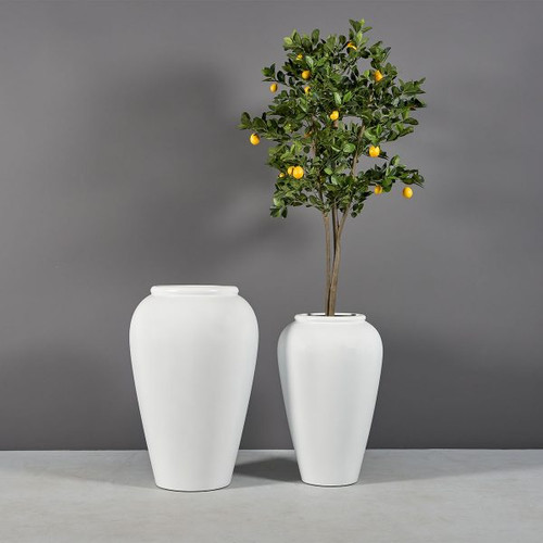Bara Jar Planters with plants