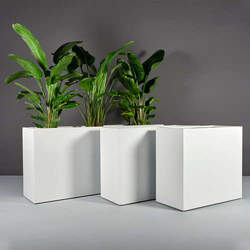 Potsdam Rectangular Planters with planters