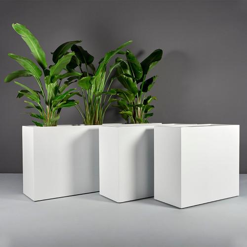 Potsdam Rectangular Planters with planters