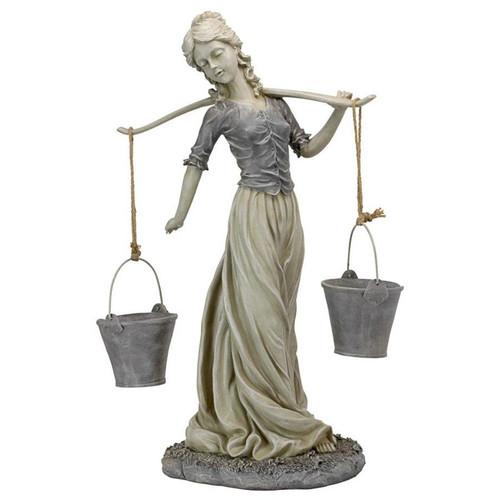 Magdalene the Danish Milkmaid Garden Woman Garden Statue