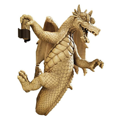 Dread Dangling Dragon Wall Sculpture