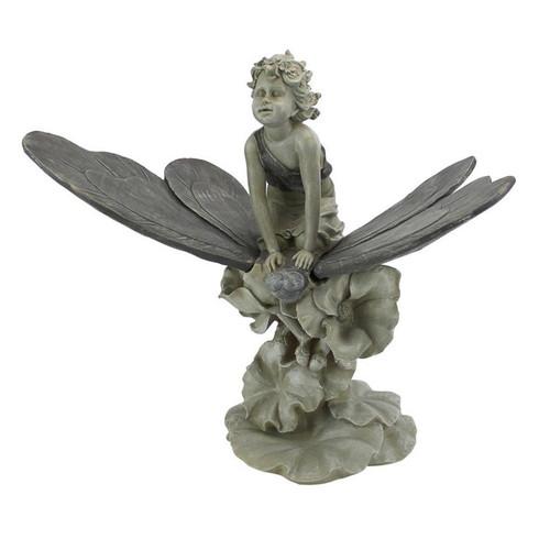 Fairy Wondrous Butterfly Ride Garden Statue